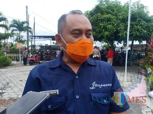 Ketua BPBD Kabupaten Blitar, Achmad Cholik.(Foto : Aunur Rofiq/BlitarTIMES)