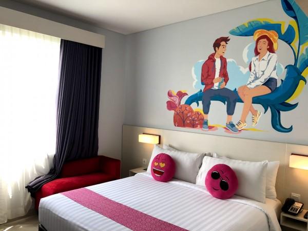Salah satu room di Favehotel Malang. (Foto: Istimewa).