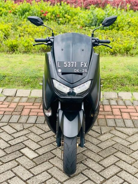 Tampilan sepeda motor Yamaha NMAX milik korban atas nama Sayed Momin Hashemi yang dibawa oleh pelaku penipuan. (Foto: Istimewa)