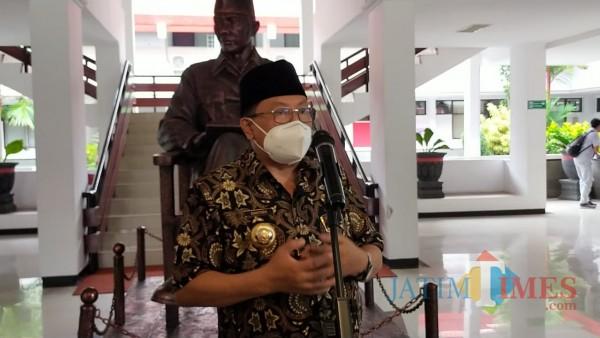 Wali Kota Blitar, Santoso.(Foto : Aunur Rofiq/BlitarTIMES)