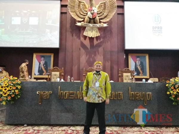 Anggota DPRD Bondowoso Yondrik (Foto: Abror Rosi/JatimTimes)