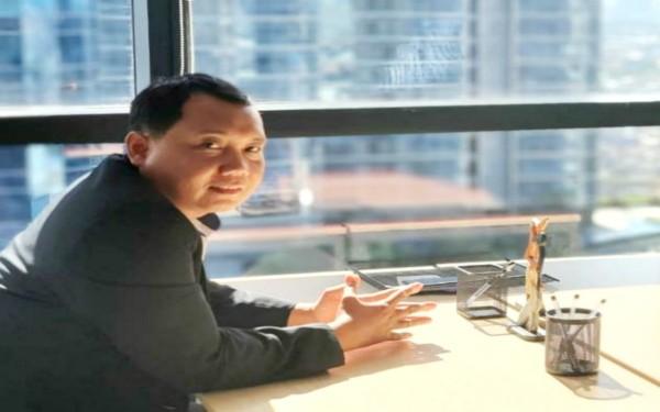 Calon Ketua DPC Peradi Jombang periode 2021-2026, Adang Dwi Widagdo. (Istimewa)