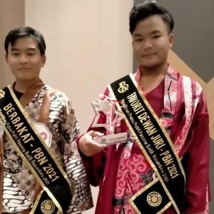 Dua Siswa Wakil Kabupaten Malang Sabet Juara di Pesona Batik Nusantara 2021