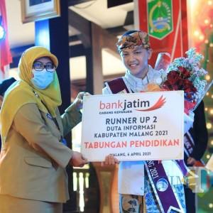 Arel, Siswa SMKN 1 Kepanjen Arel Dinobatkan Juara 3 Duta Informasi Kabupaten Malang, Ini yang akan Dilakukan