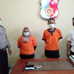 Polisi Berhasil Ringkus Sepasang Kekasih Pengedar Sabu