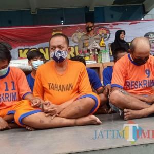 Operasi Pekat, Polres Kediri Ungkap 245 Kasus