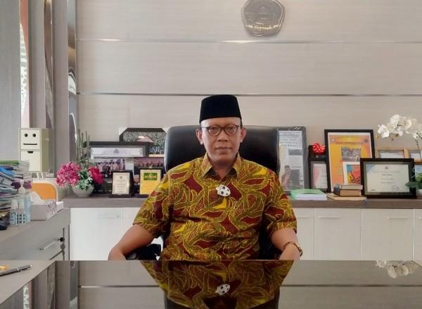 Rektor Unisma Prof Dr Maskuri MSi (Foto: Anggara Sudiongko/MalangTIMES)