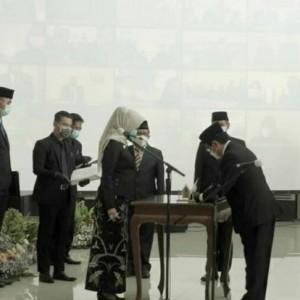 Wali Kota Dewanti Lantik 282 ASN, 5 Kursi Eselon II Menanti Open Bidding