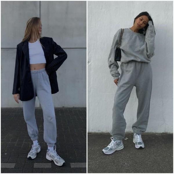 Inspirasi tampil stylish dengan sweatpants. (Foto: source Instagram)