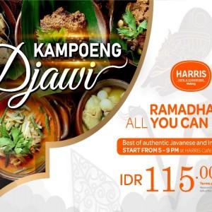 All You Can Eat Kampoeng Djawi, Promo Spesial HARRIS Malang Saat Ramadhan, Patut Dicoba