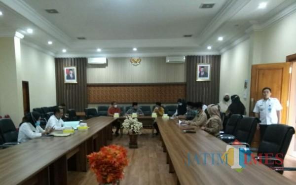 Rapat Koordinasi antara Bapenda, Sekda dan DPRD Kabupaten Tulungagung / Foto : Anang Basso / Tulungagung TIMES