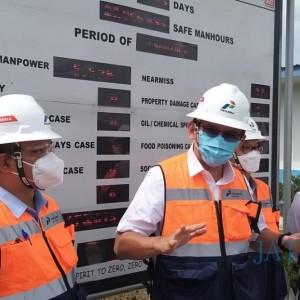 Pastikan Proyek Gas Bisa Tepat Waktu, Ahok Kunjungi JTB Bojonegoro