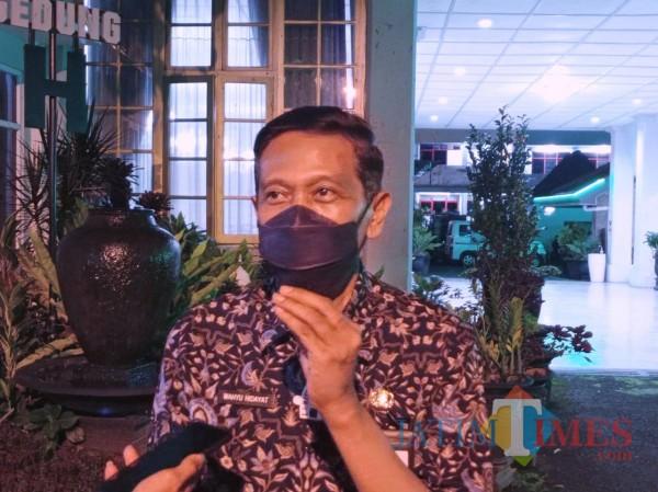 Sekretaris Daerah (Sekda) Kabupaten MalangWahyu Hidayat(foto: Hendra Saputra/MalangTIMES)