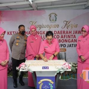 Kunjungan Kerja Ketua Bhayangkari Jatim ke Polres Malang, Beberapa Hal ini Jadi Tinjauannya