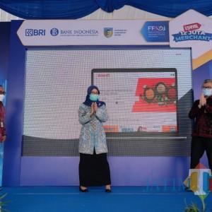 Pemkab Kediri, BRI dan BI Kediri Launching Program Digitalisasi Pasar.id