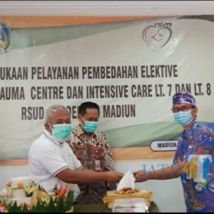 Mulai Senin Ini, Seluruh Ruangan Gedung Baru RSUD dr Soedono Madiun Sudah Beroperasi