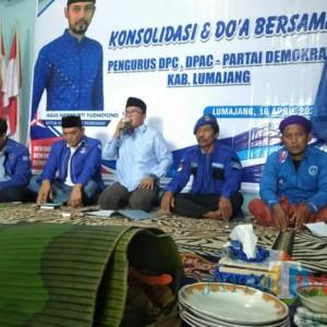 AHY Menang, DPC Partai Demokrat Lumajang Gelar Tasyakuran dan Konsolidasi