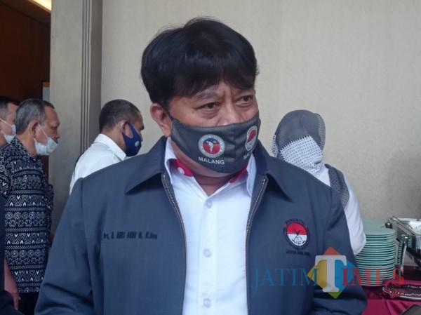 Ketua Umum Pergatsi Kota Malang, Agus Dono Wibawanto (foto: Hendra Saputra/MalangTIMES)