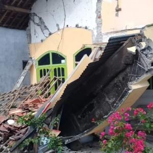 Blitar Terdampak Gempa Bumi, 11 Orang Dilaporkan Alami Luka-Luka