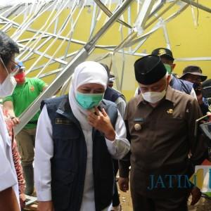 Gubernur Jatim Tinjau Langsung Korban Gempa di Kabupaten Malang, Kunjungi 3 Titik ini