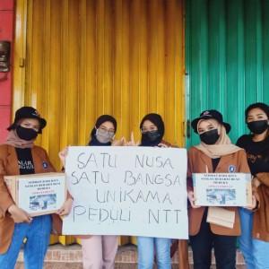 Bantu Korban Bencana NTT, DPM Unikama Inisiasi Gerakan Orwama Unikama Peduli