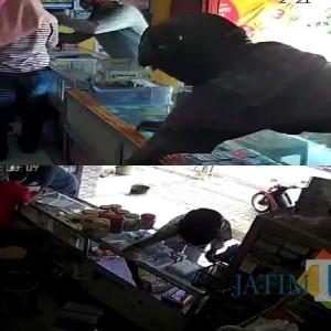 Komplotan Pencuri Hp Terekam CCTV, Gasak 2 Konter di Tulungagung, Ini Videonya