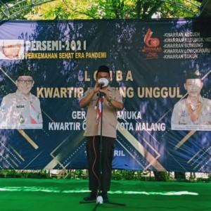 Kemah Sehat saat Pandemi, Dewan Acungi Jempol Kwarcab Kota Malang