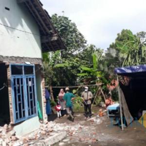 LPBI NU Lumajang Dirikan Puluhan Tenda dan Pemetaan Bantuan