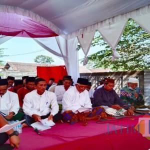 Geren Massal di Desa Tunggulsari, Pemdes dan NU Gelar Khotmil Quran dan Tahlil Akbar