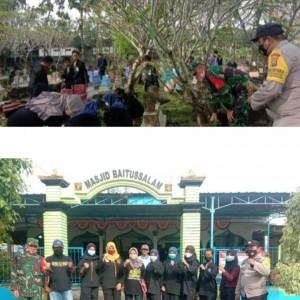 Hadir di Tengah Masyarakat, Warga PSHW Lakukan Kerja Bakti Bersama Polri-TNI