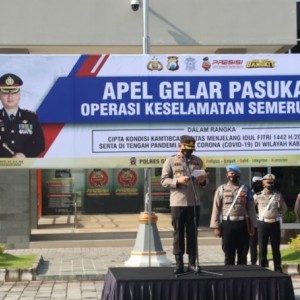 Operasi Semeru 2021 Serentak Digelar, Pastikan Keamanan Selama Bulan Suci Ramadan