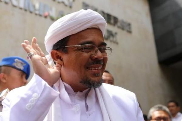 Habib Rizieq (Foto: Kompas.com)