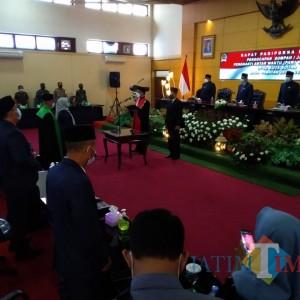 Sah, Elly Idayah Resmi Dilantik Sebagai Wakil Ketua DPRD Kota Blitar