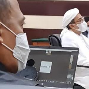 Pagi Ini, Habib Rizieq akan Jalani Sidang Pemeriksaan Saksi Kasus Kerumunan