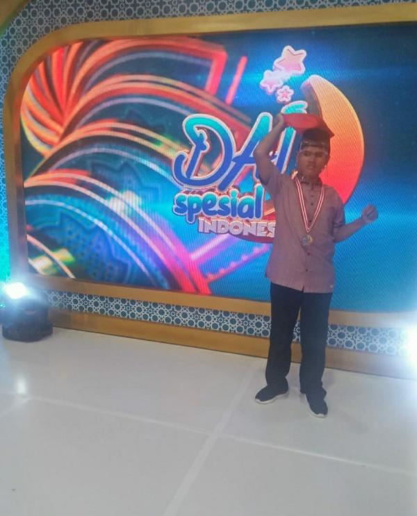 Ahmad Syihab Athaillah saat mengikuti kompetisi Dai Spesial Indonesia pada 2016 lalu (foto istimewa)