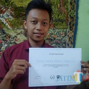 Implementasi Nyata MBKM, Mahasiswa Prodi TI Unikama ini Belajar Google Digital Garage
