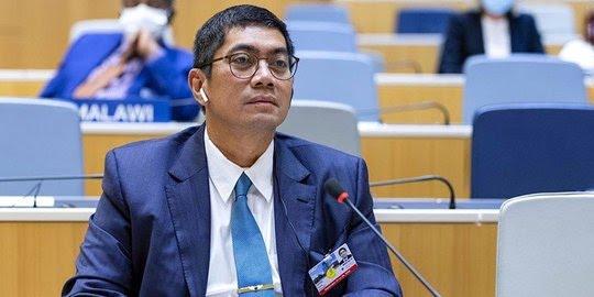 Dirjen Kekayaan Intelektual Kemenkumham RI Dr. Freddy Hariss (Sumber: Antara)