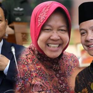Hasil Survei SSC: Prabowo, Risma, Ganjar Jadi Capres Favorit Milenial Jatim
