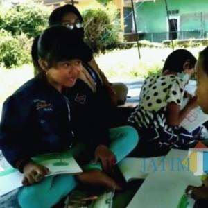 Anak-Anak Korban Gempa di Malang Dapat Trauma Healing dari Kemensos