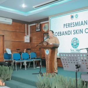 Resmikan Skin Center, Bupati Ingin RSD Soebandi Jember Miliki SIM-RS