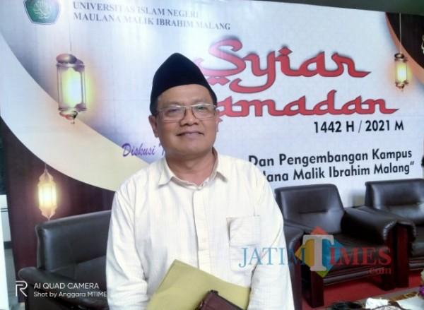 Guru Besar UIN Maliki Malang, Prof Imam Muslimin (Anggara Sudiongko/MalangTIMES)