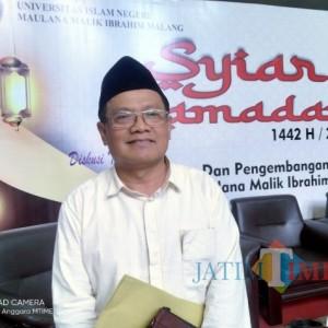 Guru Besar UIN Malang, Prof Imam Muslimin: 'Pemimpin Harus Bersih Dari Berbagai Dugaan'