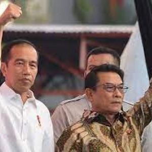 Heboh Isu Reshuffle Kabinet, Jokowi Bakal Copot Moeldoko atau Tidak?