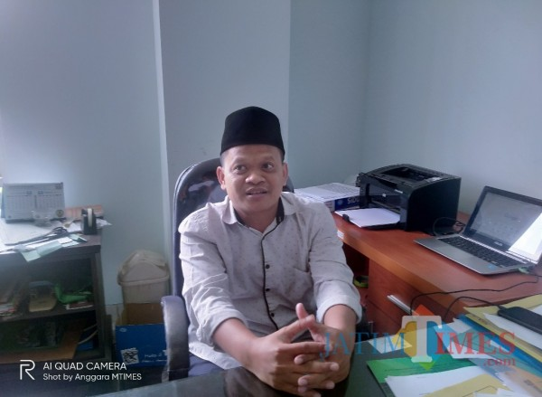 Kepala Bagian Akademik UIN Malang, Imam Ahmad (Anggara Sudiongko/MalangTIMES)
