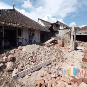 Korban Gempa Tak Pikirkan Lebaran, Ingin Rumah Dibangun