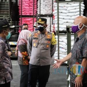 Sidak Pasar, Polres Batu akan Pantau Penimbunan Bahan Pokok