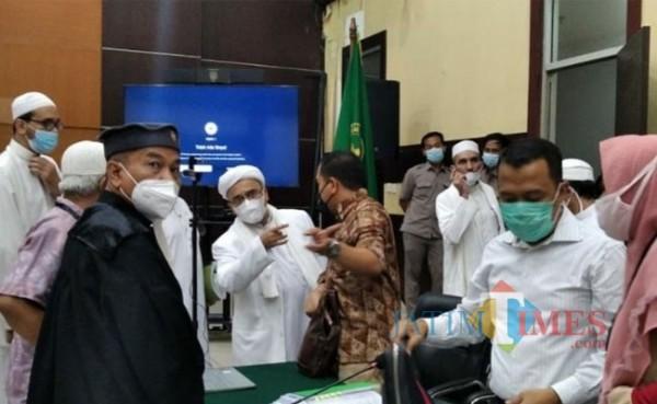 Persidangan Habib Rizieq (Foto: Suara Jakarta)