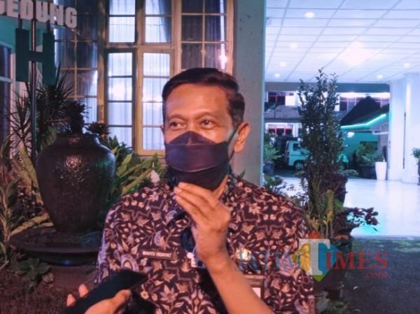 Sekretaris Daerah Kabupaten Malang Wahyu Hidayat (Hendra Saputra/MalangTIMES)