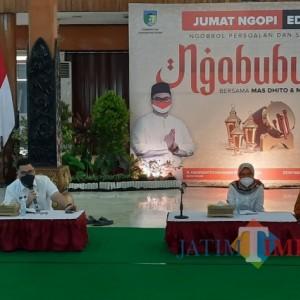 Gelar Ngabuburit, Bupati Kediri Disodori Proposal Pengembangan Pasar Desa