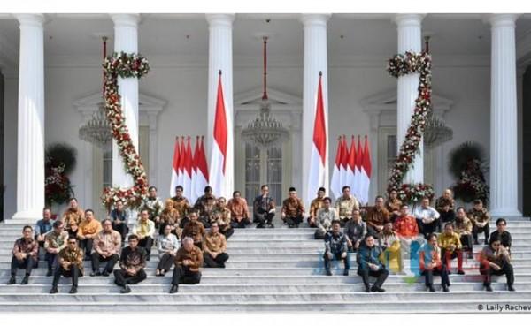 Kabinet Indonesia Maju (Foto: DW)